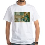 Saint Augustine of Hippo White T-Shirt
