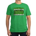 Designated Drinker Men's Fitted T-Shirt (dark)