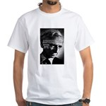 Philosopher Bertrand Russell White T-Shirt