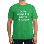 Level 40 Ranger Men's Fitted T-Shirt (dark)