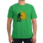 I Like Zombies Men's Fitted T-Shirt (dark)