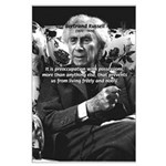 Bertrand Russell Philosophy Large Poster