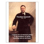 Theodore Roosevelt Small Poster