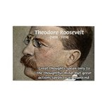 President Theodore Roosevelt Rectangle Magnet
