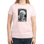 Open Society: Karl Popper Women's Pink T-Shirt