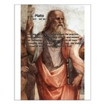 Plato: Philosophy / Equality Small Poster
