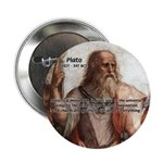 """Music and Plato 2.25"""" Button (10 pack)"""