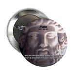 "Plato: Wisdom Knowledge Play 2.25"" Button (100 pac"