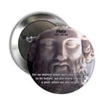 "Dialogues of Plato Poet in Love 2.25"" Button (100"