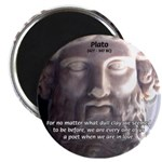 "Dialogues of Plato Poet in Love 2.25"" Magnet (100"