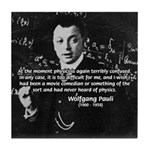 Wolfgang Pauli: Principles in Physics Tile Coaster