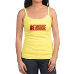 Rated R Red State Conservative Jr. Spaghetti Tank