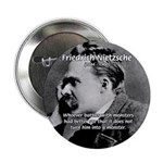 Christian Morality / Nietzsche 2.25&quot; Button (10 pa