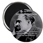 Christian Morality / Nietzsche 2.25&quot; Magnet (10 pa