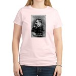 Vanity God and Nietzsche Women's Pink T-Shirt