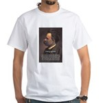 Master of Prose: Nietzsche White T-Shirt
