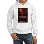 Mozart's Work: Symphony, Piano Hooded Sweatshirt