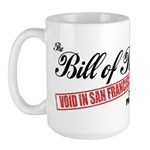 Bill of Rights (San Francisco Large Mug