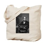 Irish Poet: Thomas Moore Tote Bag