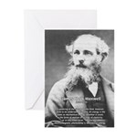 Maxwell's Electromagnetic Equations Greeting Cards
