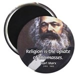 Karl Marx Religion Opiate Masses Magnet