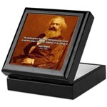 Power of Change Karl Marx Keepsake Box