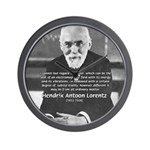 Nobel Prize Physics Lorentz Wall Clock