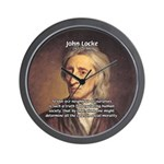 John Locke: Law of Love Wall Clock