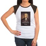 Change and John Locke Women's Cap Sleeve T-Shirt