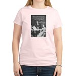Leibniz Origins of Calculus Women's Pink T-Shirt