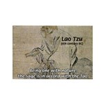 Lao Tzu: Being One Rectangle Magnet
