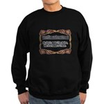 Enforce The Rules Sweatshirt (dark)