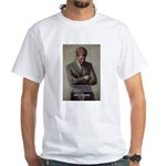Man / War John F. Kennedy White T-Shirt