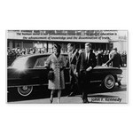 Education John F. Kennedy Rectangle Sticker