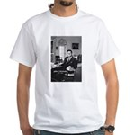 Humanist John F. Kennedy White T-Shirt