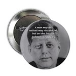 "Power of the Idea JFK 2.25"" Button (100 pack)"