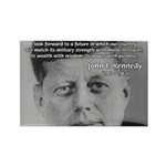 American Politics JFK Rectangle Magnet (10 pack)