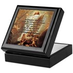 Jesus Kingdom of Heaven Keepsake Box