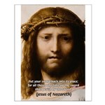 Jesus Peace and Love Small Poster