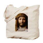 Jesus Peace and Love Tote Bag