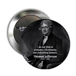 President Thomas Jefferson Button