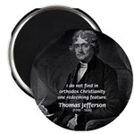 President Thomas Jefferson Magnet