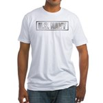 U.S. Navy Metalic Fitted T-Shirt