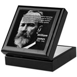 Pragmatic William James Keepsake Box