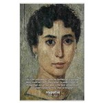 Wisdom of Greece: Hypatia Large Poster