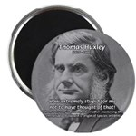 "Thomas Huxley and Darwin 2.25"" Magnet (10 pack)"