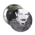 "Man / Language: Heidegger 2.25"" Button (100 pack)"