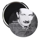 Man / Language: Heidegger Magnet