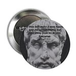 "Epicurus Self Control 2.25"" Button (100 pack)"