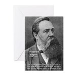 Nature versus Humanity: Engels Greeting Cards (Pac